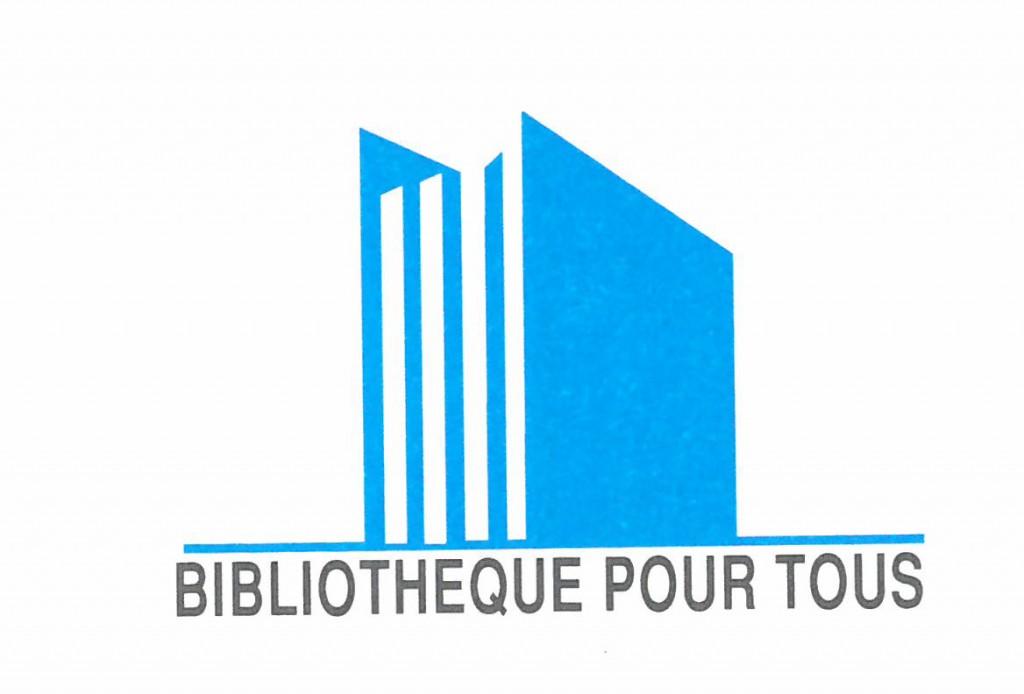 logo bibliothèque pour tous