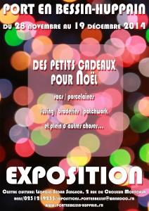 affiche expo noël 2014