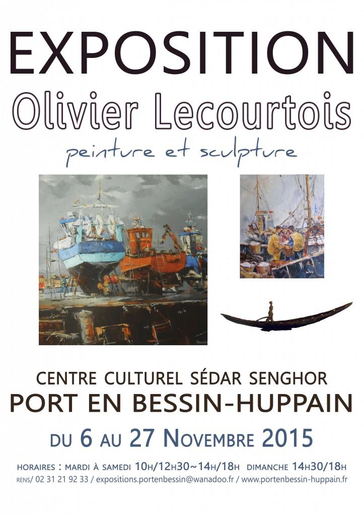 affiche Olivier Lecourtois