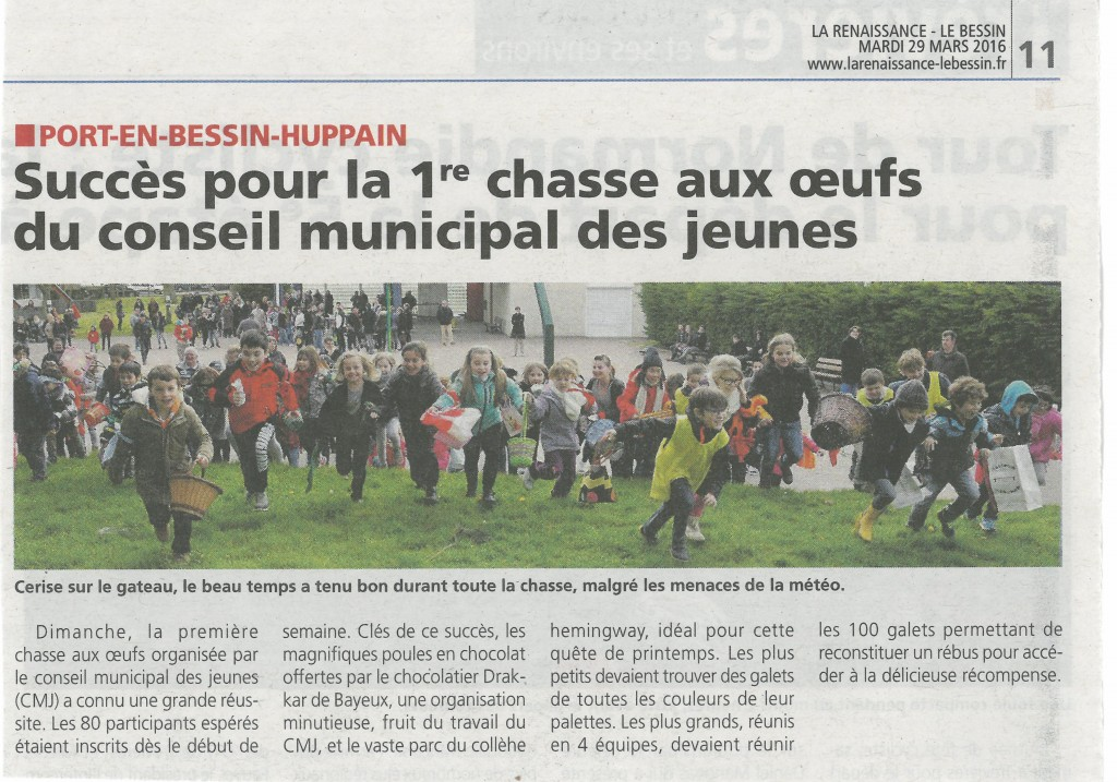 chasse aux oeufs articles presse (1)