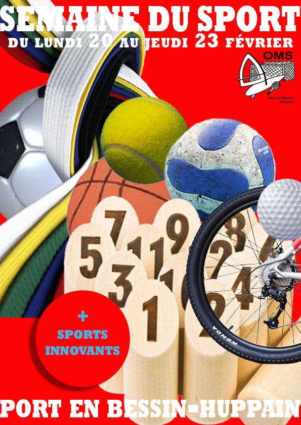 semaine du sport 2017