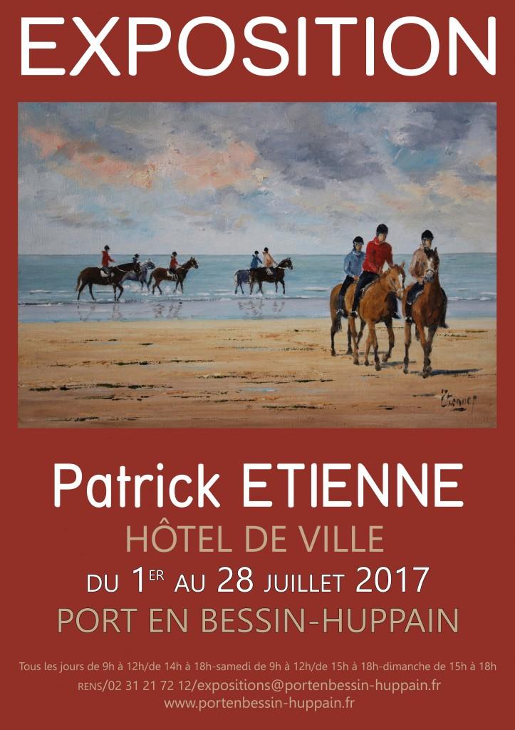 affiche Patrick Etienne