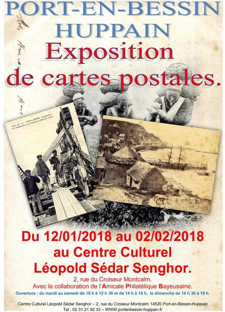 Affiche Port en Bessin 2018 A4 jpeg proposition (Copier)