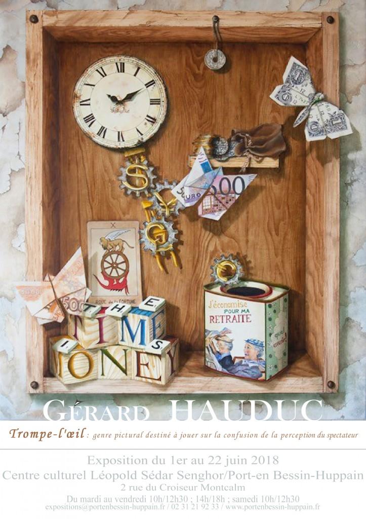 affiche Gérard Hauduc