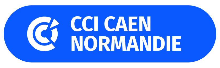 2018 Logo CCI CN SANS Baseline blanche - Fond bleu