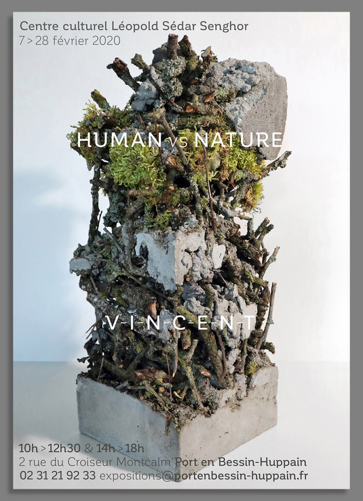Human vs Nature, affiche Port en Bessin 2020