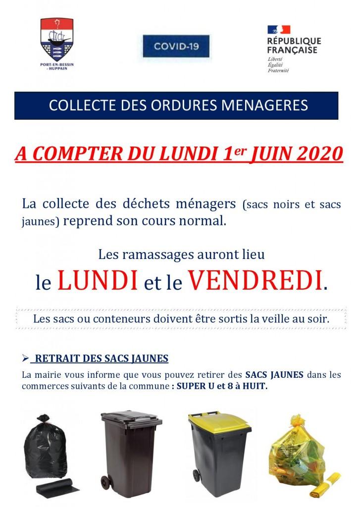INFORMATIONS  OM  26 mai 2020