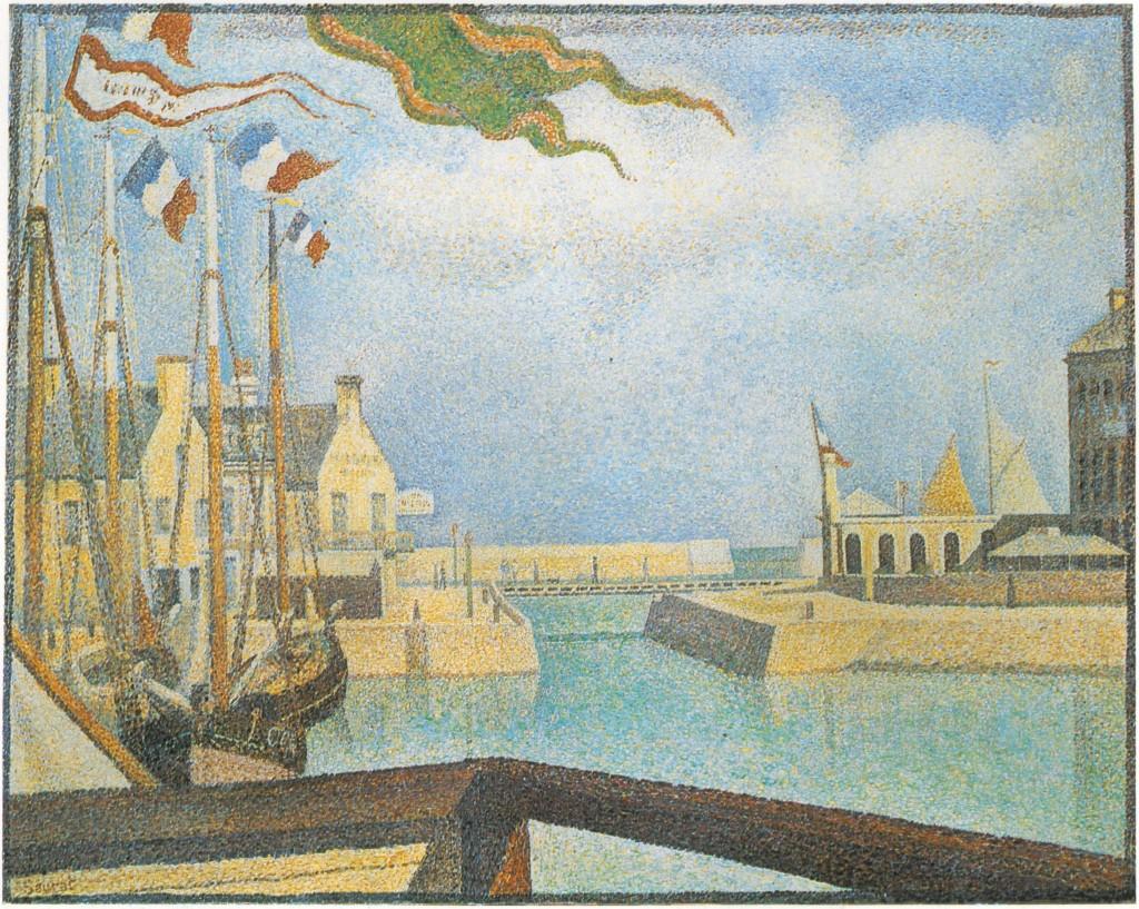 Dimanche, Port en Bessin