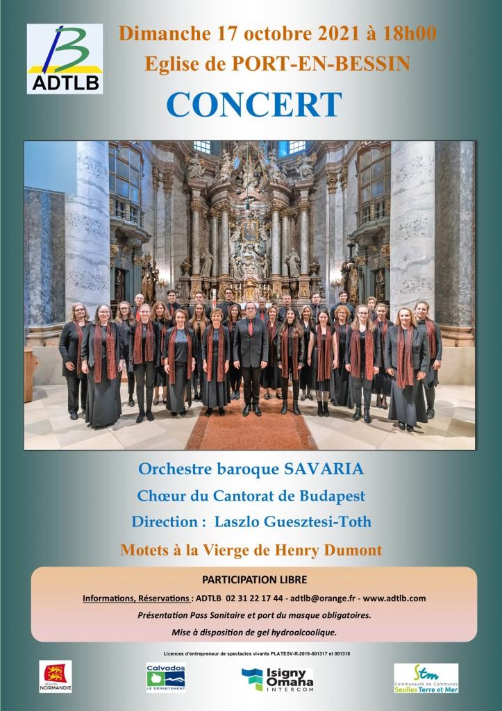 Affiche Orchestre Savaria A4